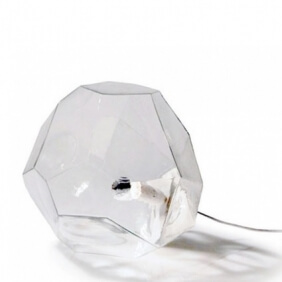 ASTEROID - lampe à poser transparente