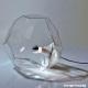 ASTEROID - lampe transparente 30 cm