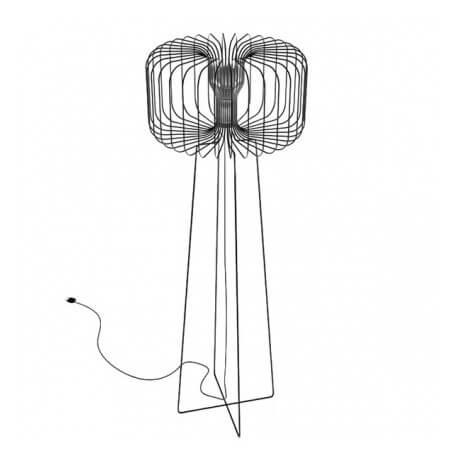 YU - lampadaire en acier