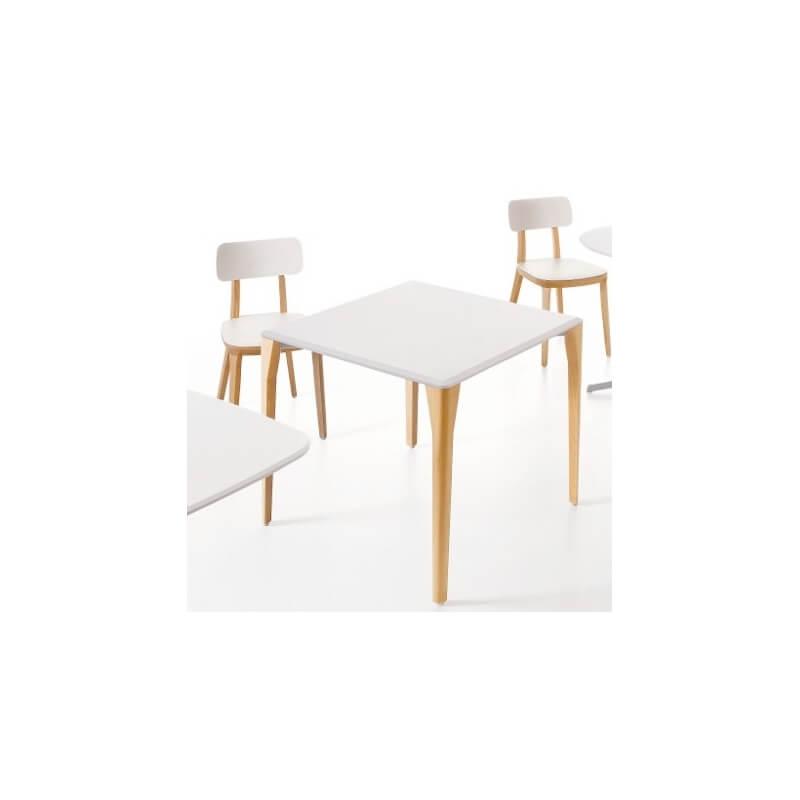 Porta venezia table 80 x 80 cm de dorigo design dit e for Table 80 x 80