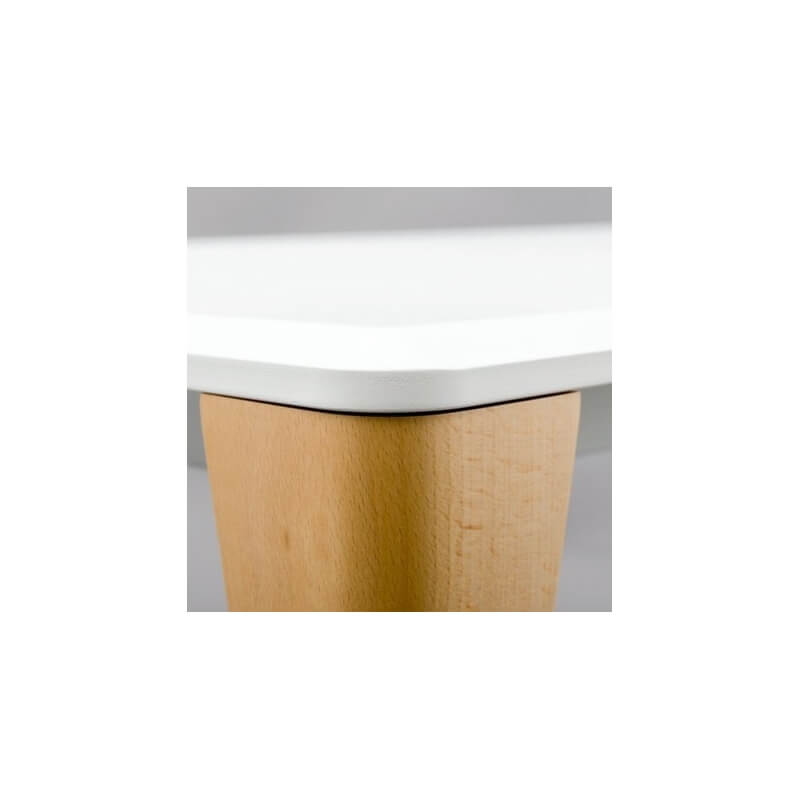 Porta venezia table 80 x 80 cm de dorigo design dit e for Table design 80 cm