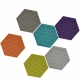BUZZITILE 3D HEXA - dalle acoustique