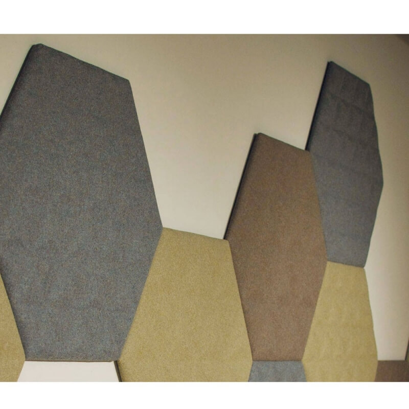 buzzitile 3d hexa dalle acoustique auto adh sive de buzzispace. Black Bedroom Furniture Sets. Home Design Ideas