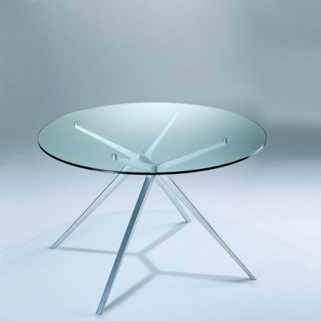 table ronde 140 cm ex de jorge pensi diteur casprini. Black Bedroom Furniture Sets. Home Design Ideas