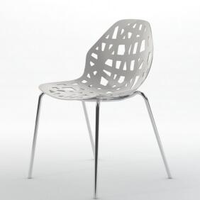 PELOTA - 2 chaises empilables