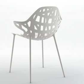 PELOTA - 2 chaises accoudoirs