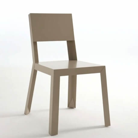 YU.YU - chaise en acier laqué (lot de 2)
