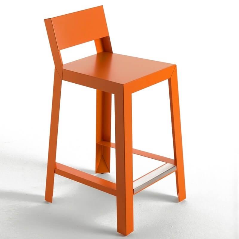 yu tabouret de bar - Tabouret Bar Orange