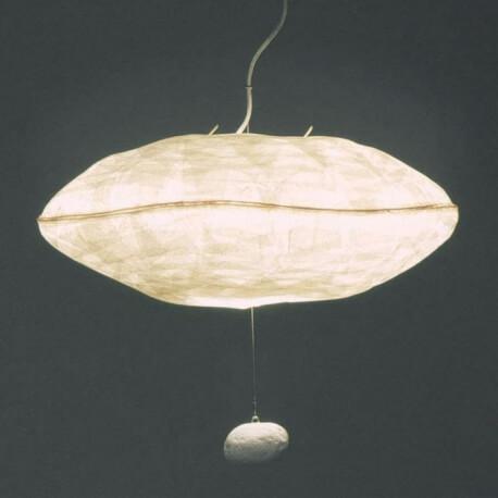 CUMULUS - suspension en papier japonais 80 cm