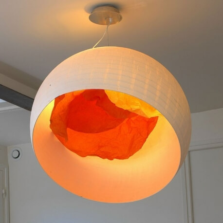COQUILLE D'OEUF - suspension ø 74 cm