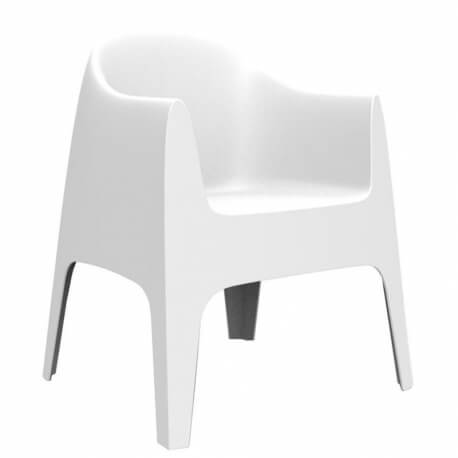 SOLID - 4 chaises avec accoudoirs