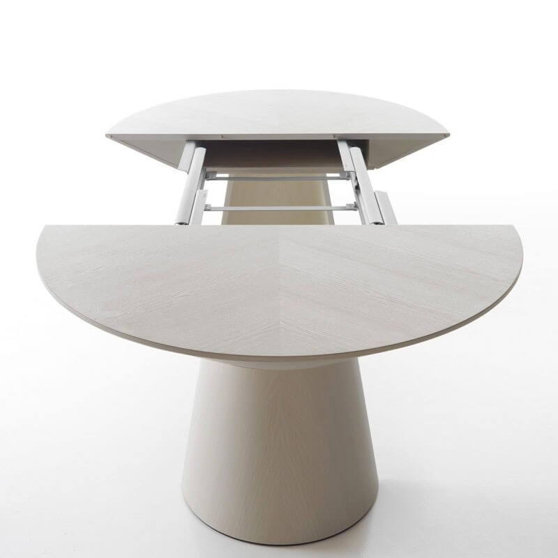 Table ronde ovale extensible excellent aise tables with table ronde ovale extensible trendy - Table basse ronde ou ovale ...