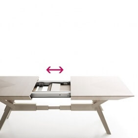 CAVALLETTO - table extensible 1m80 à 2m80