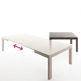 DUETTO - table extensible 1m40 à 3m40