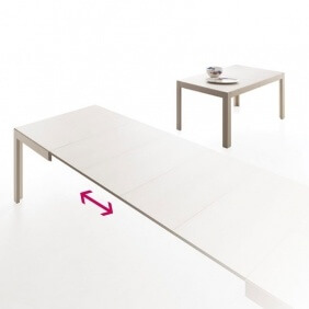 EDO - table extensible 1m20 à 2m70