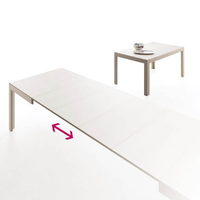 Edo table extensible par bauline for Table de salle a manger extensible rectangulaire