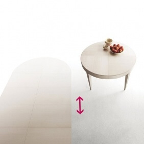 EDO TONDO - table extensible