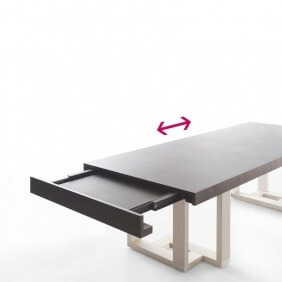 FRASEGGIO - table extensible 2m30 à 3m50