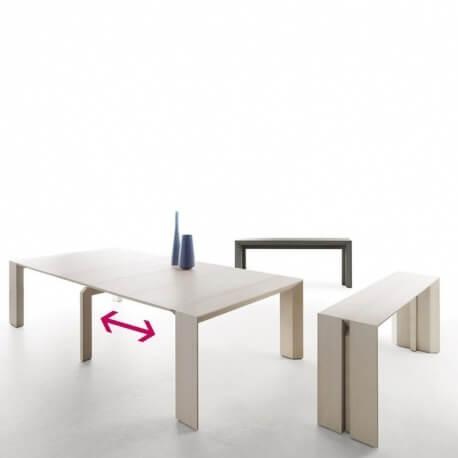 console extensible 12 personnes fabulous cliquez with console extensible 12 personnes cool. Black Bedroom Furniture Sets. Home Design Ideas