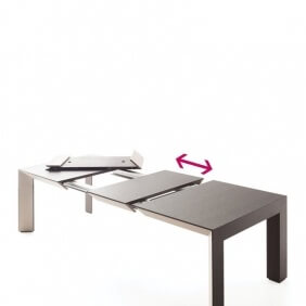 PERSPECTIVA - table extensible 1m50 à 2m50
