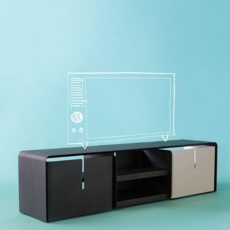 BARBER - meuble tv