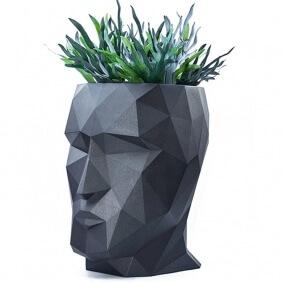 ADAN - jardinière H 70 cm