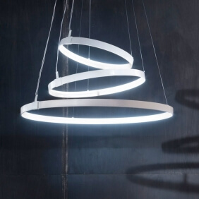 RINGS ORIZZONTALE - suspension led