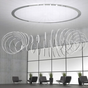 RINGS VERTICALE - suspension led