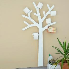 PQTIER - porte papier toilette