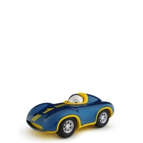 SPEEDY LE MANS - voiture bleu / jaune