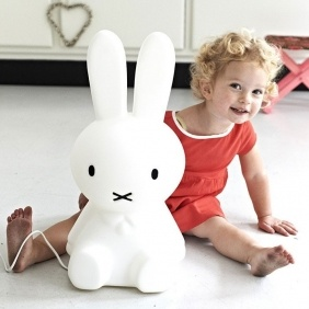 lampe lapin pour enfant MIFFY 50 cm