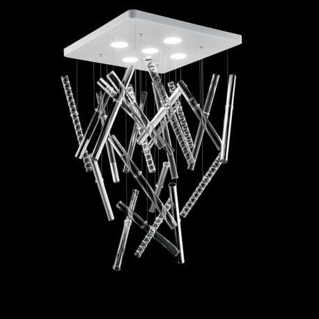 IXI - plafonnier en cristal H120 cm