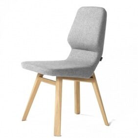 OBLIQUE - chaise tissu Synergy