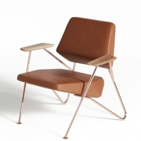 POLYGON - fauteuil cuir Tundra