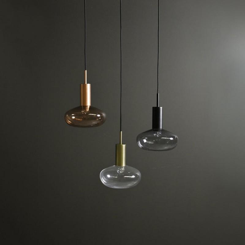 Suspension gambi avec verre transparent diteur studio for Suspension en verre design