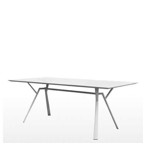 RADICE QUADRA - table en aluminium 240 x 100 cm