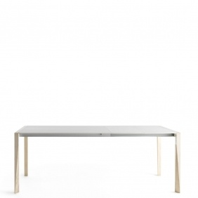 TANGO - table extensible Fenix blanc