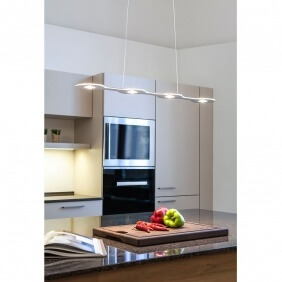 FLAT 04 - suspension led en aluminium 80 cm