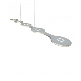FLAT 05 - suspension led aluminium 100 cm