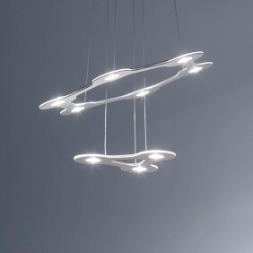 FLAT SATURN - suspension ø 68 cm