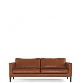 ELEGANCE - canapé 2m cuir Elmosoft