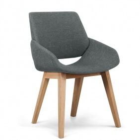 MONK - chaise tissu Faros