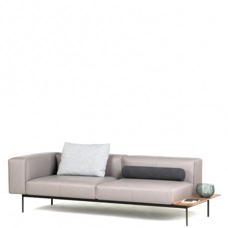 CONVERT - canapé 2m40 cuir Elmosoft