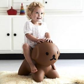 SNUFFY - jouet trotteur enfant 41 cm