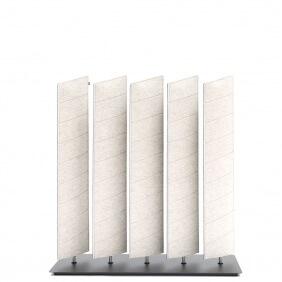 BUZZIBLINDS modèle Wedge Lines 1 - cloison acoustique
