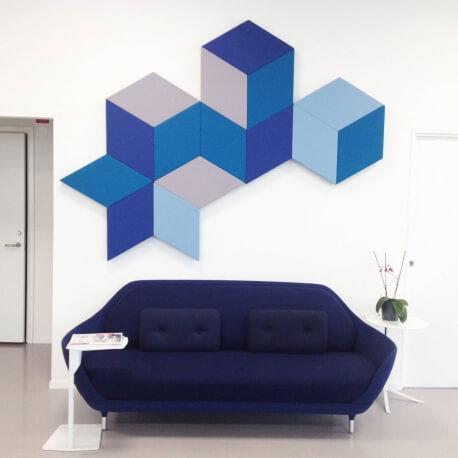 FAZETT - dalle murale acoustique