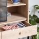 GABIN - cabinet en chêne et métal 1m40