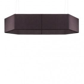 FOLD - faux plafond acoustique hexagonal