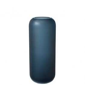 OVALO - vase bleu