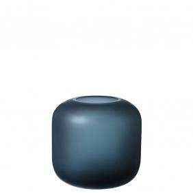 OVALO - vase 17 cm bleu
